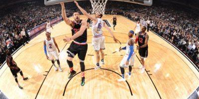 Así se vive la acción en el Juego de Estrellas de la NBA