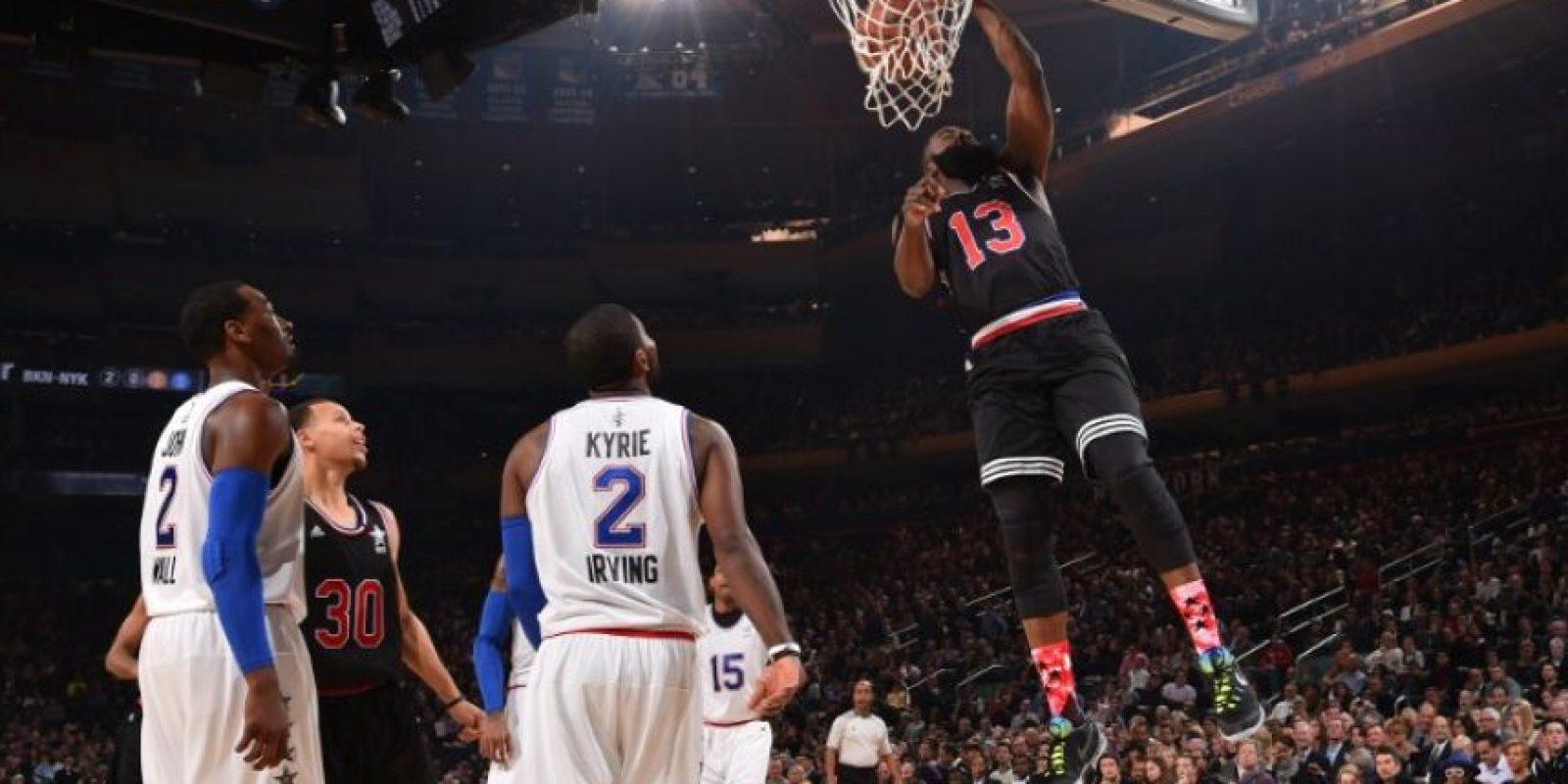 El equipo de la Conferencia Oeste se quedó con el triunfo en Nueva York. Foto:AFP