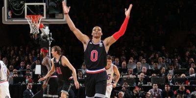 Westbrook encarriló el triunfo del Oeste en el Juego de las Estrellas