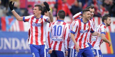 Se elimina con Atlético de Madrid, campeón de España Foto:Getty