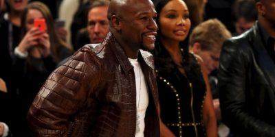 El campeón mundial de boxeo, Floyd Mayweather Foto:Getty Images