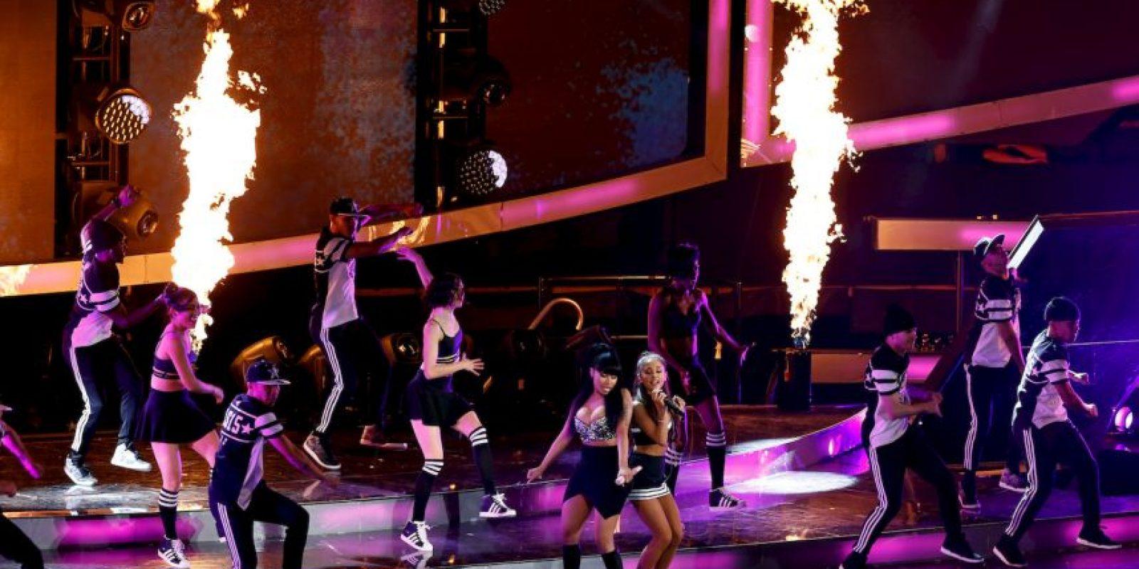 El show del medio tiempo, a cargo de Ariana Grande y Nicki Minaj Foto:Getty Images