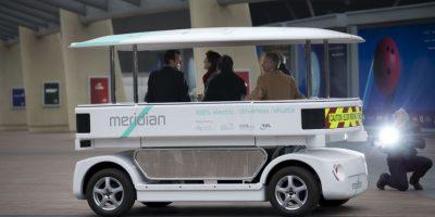 VIDEO: Así son el Meridian shuttle y el Lutz, los autos que no necesitan chofer