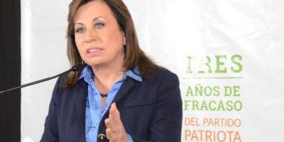 Sandra Torres por la UNE