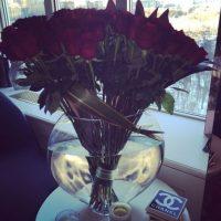 El ramo de flores que recibió este San Valentín Foto:instagram/Lady Gaga