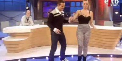Ella trabajó como stripper Foto:Youtube: eleftheropoulos