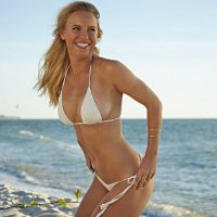 Así lució la danesa en Sports Illustrated Foto: Instagram: @carowozniacki