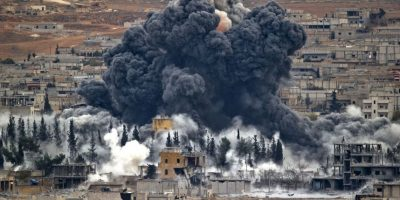 FOTOS: En venganza, Egipto bombardea a Estado Islámico en Libia