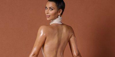 FOTOS. Entérate por qué Kim Kardashian disfruta posar desnuda