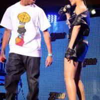 """Chris Brown: Golpeó a Rihanna en 2009, un día antes de la entrega de premios Grammy. Después fue perdonado en 2012, cuando participó en la misma ceremonia como parte de un especial llamado: """"El especial del regreso de Chris Brown"""". Foto:Getty Images"""