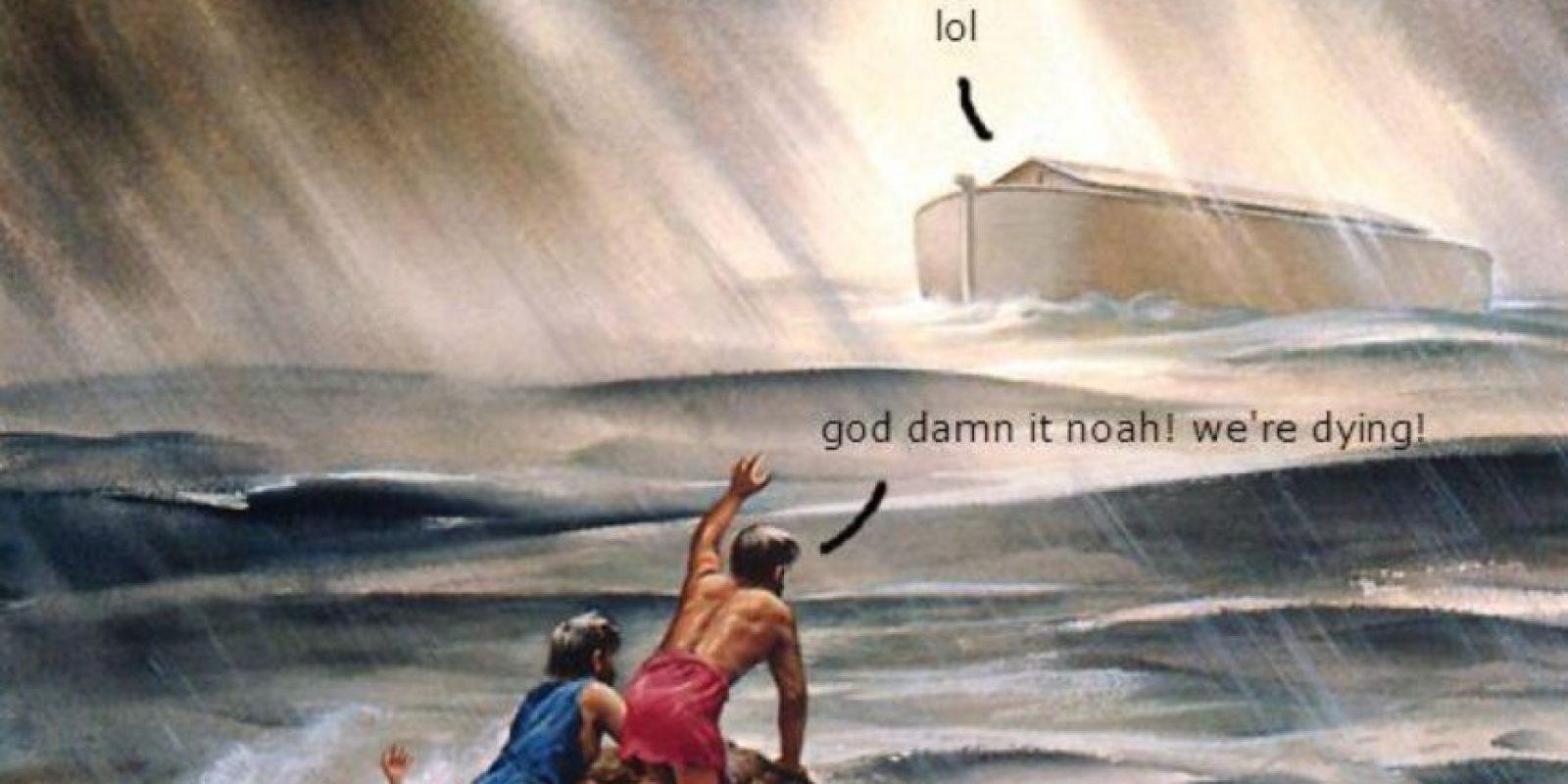 Pasajes bíblicos, Jesús con dinosaurios y el Cristo malamente restaurado que se hizo popular en 2013 son algunos de los temas de los memes.Pasajes bíblicos, Jesús con dinosaurios y el Cristo malamente restaurado que se hizo popular en 2013 son algunos de los temas de los memes. Foto:Jesus Memes
