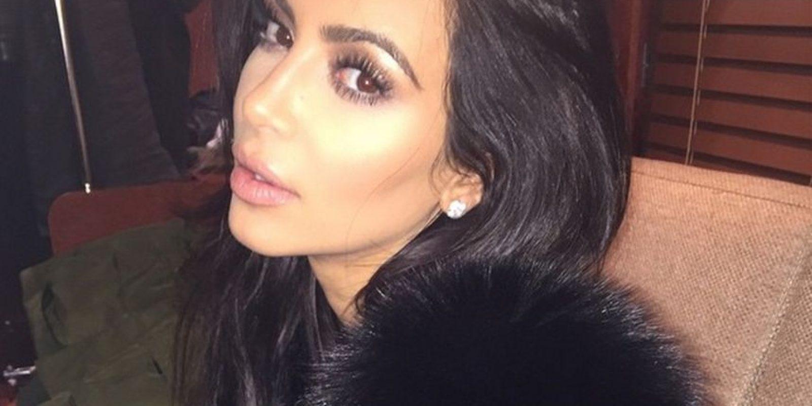 """Kanye lo hizo para su presentación en los 40 años del programa """"Saturday Night Live"""" Foto:Instagram Kim Kardashian"""