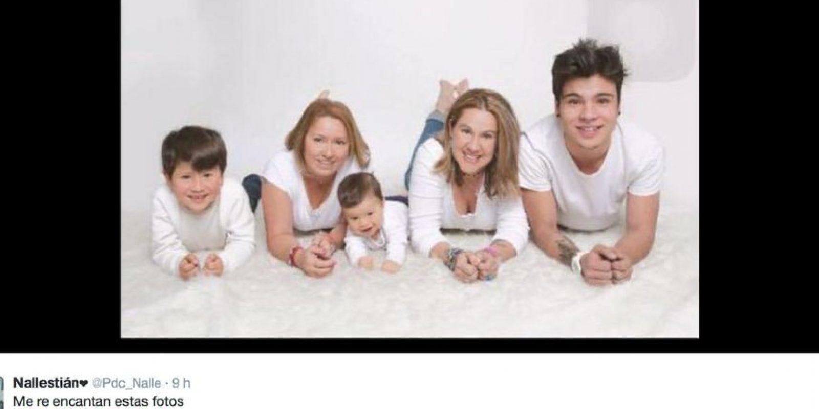 Esto lo hace para apoyar la adopción igualitaria, tema que en Colombia está por definirse esta semana. Foto:Twitter
