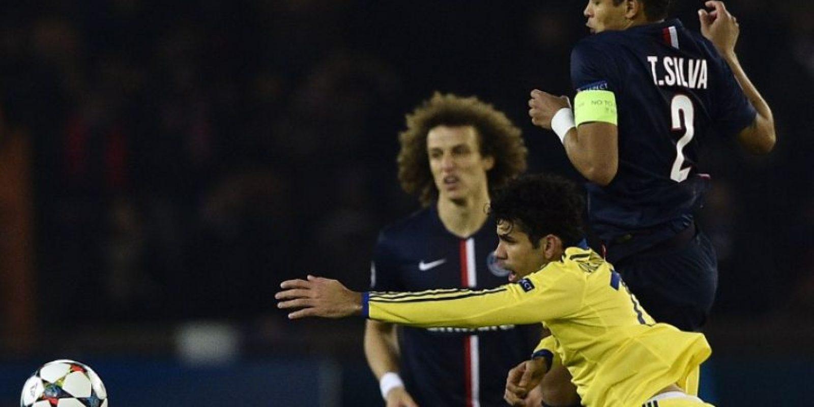 El PSG rescató en casa la igualdad contra el Chelsea. Foto:AFP