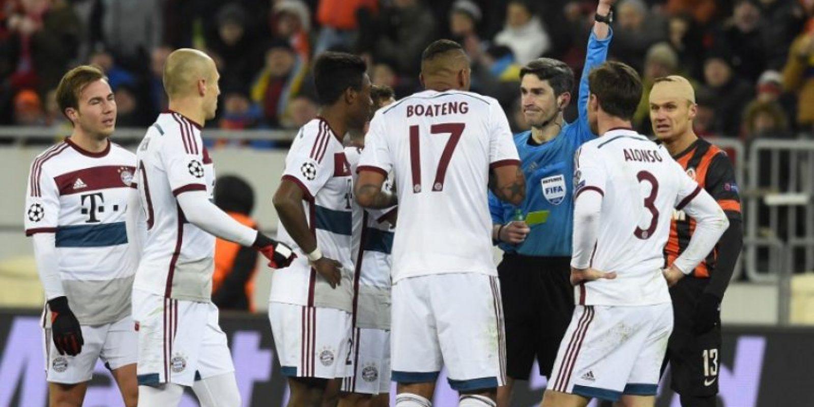 El Bayern de Múnich mantuvo en cero su arco en su visita a Ucrania. Foto:AFP