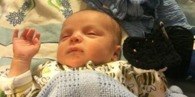 FOTOS: Así luce un bebé después de usar maquillaje