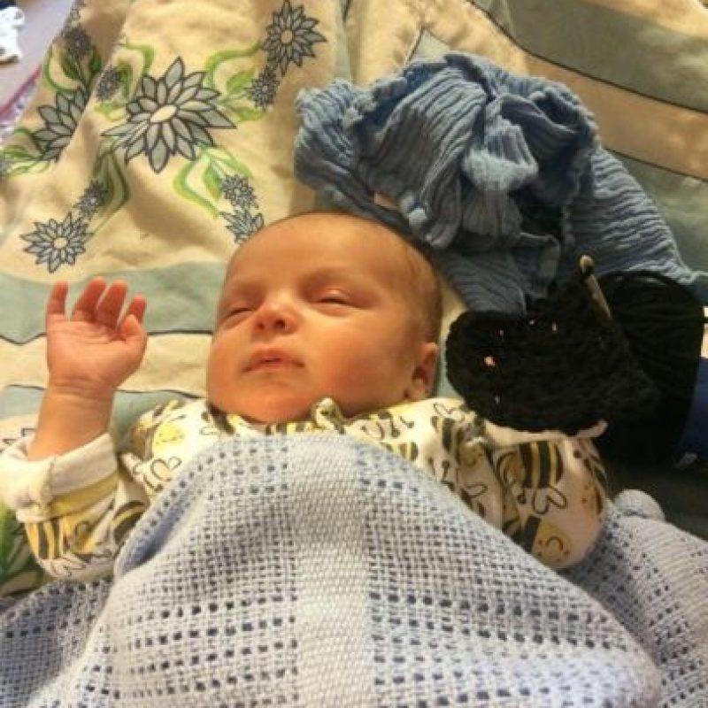 Su nombre es Gabriel y tiene siete semanas de llegar al mundo. Foto:Facebook/Unicorn Reality and the Revolution