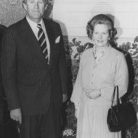 4 de mayo – Margaret Thatcher se convierte en la primera mujer en ocupar el cargo de Primer Ministro de Reino Unido Foto:Getty Images