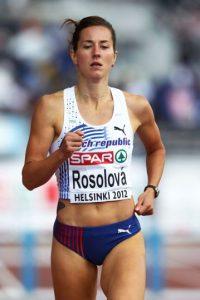 Denisa Rosolová, atleta checa. Foto:Getty Images