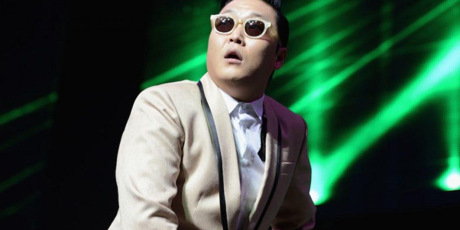 Psy, cantante surcoreano. Foto:Getty Images