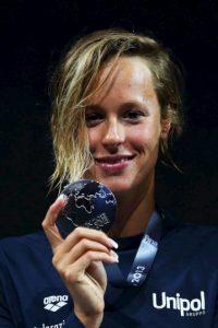 Federica Pellegrini es una nadadora italiana. Foto:Getty Images