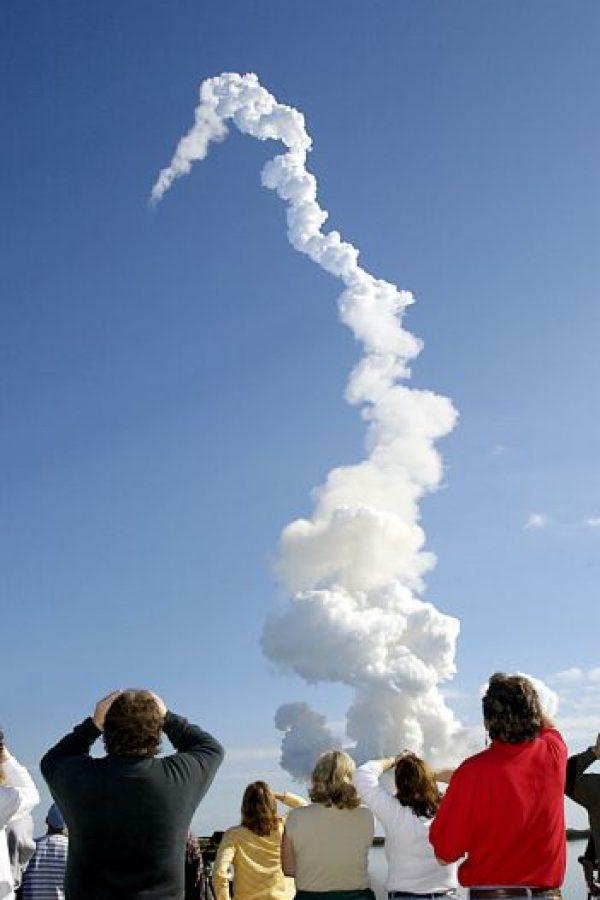 Se desintegra el transbordador Columbia. Foto:Getty Images