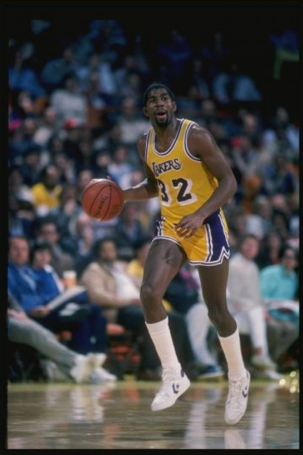 7 de noviembre – Magic Johnson anuncia que tiene SIDA y se retira de la NBA Foto: Getty Images