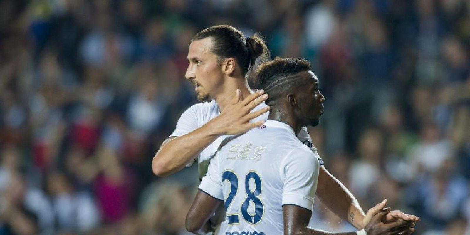 Zlatan Ibrahimovic es el líder del club galo Foto:Getty