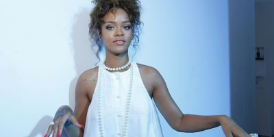 Rihanna, cantante barbadense. Foto:Getty Images