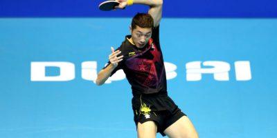 Es el actual número uno del ránking de la ITTF Foto:Getty Images