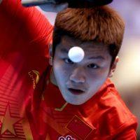 Zhendong Fan es el tercer mejor jugador del mundo hoy por hoy Foto:Getty Images