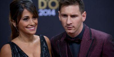 El argentino acostumbra a vestirse de forma poco usual en las entregas del Balón de Oro Foto:Getty