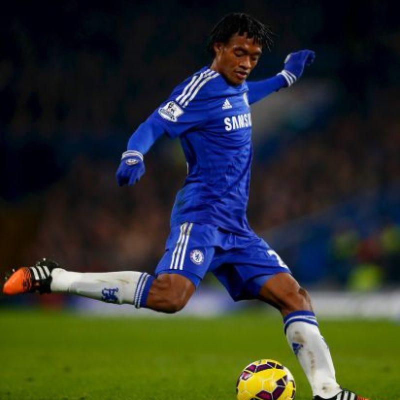 La llegada de Juan Cuadrado fortaleció al Chelsea Foto:Getty