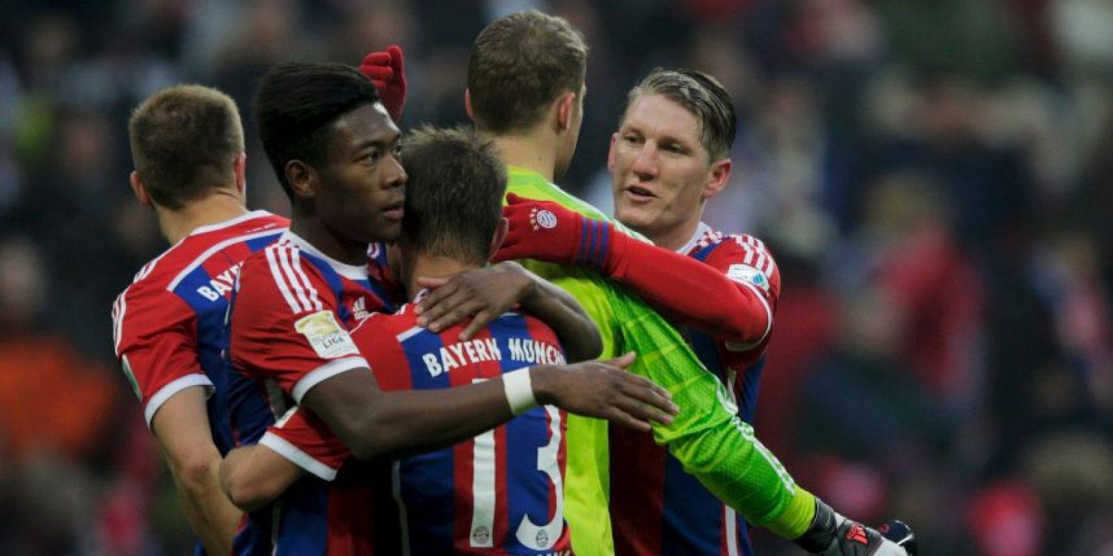Se ve las caras con Bayern Múnich Foto:Getty