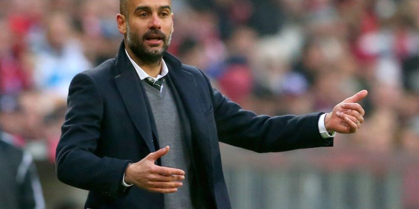 Pep Guardiola, entrenador del Bayern Múnich. Foto:Getty Images
