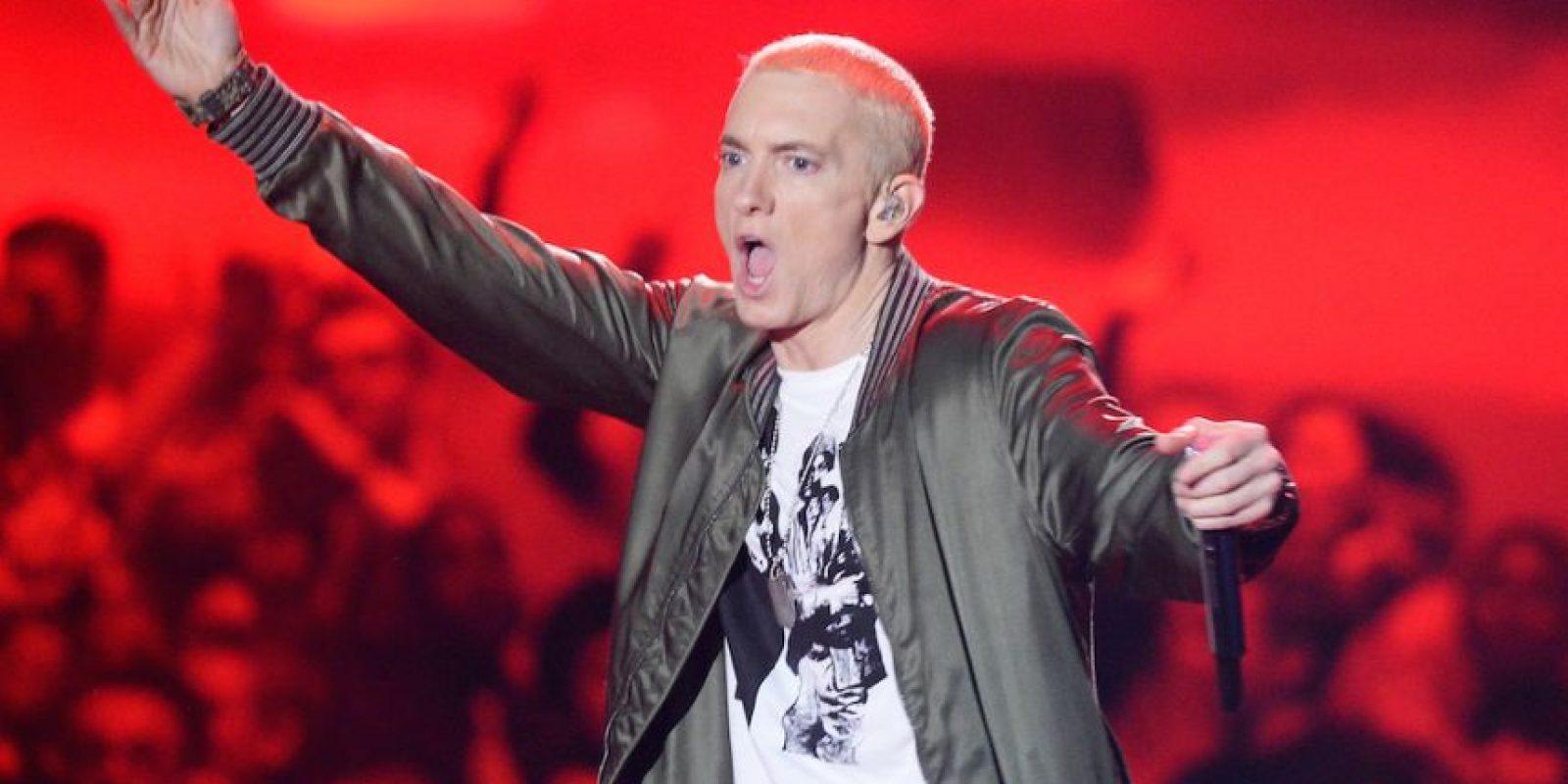 Eminem, rapero estadounidense. Foto:Getty Images