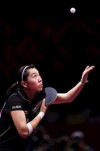Es la tercera del ranking de la ITTF Foto:Getty Images