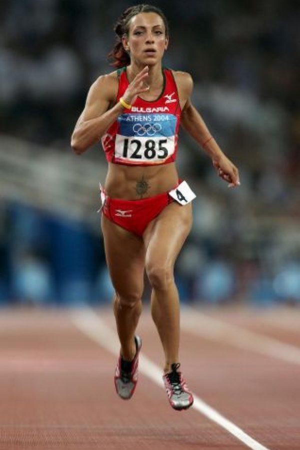Ivet Lalova, velocista de origen búlgaro. Foto:Getty Images