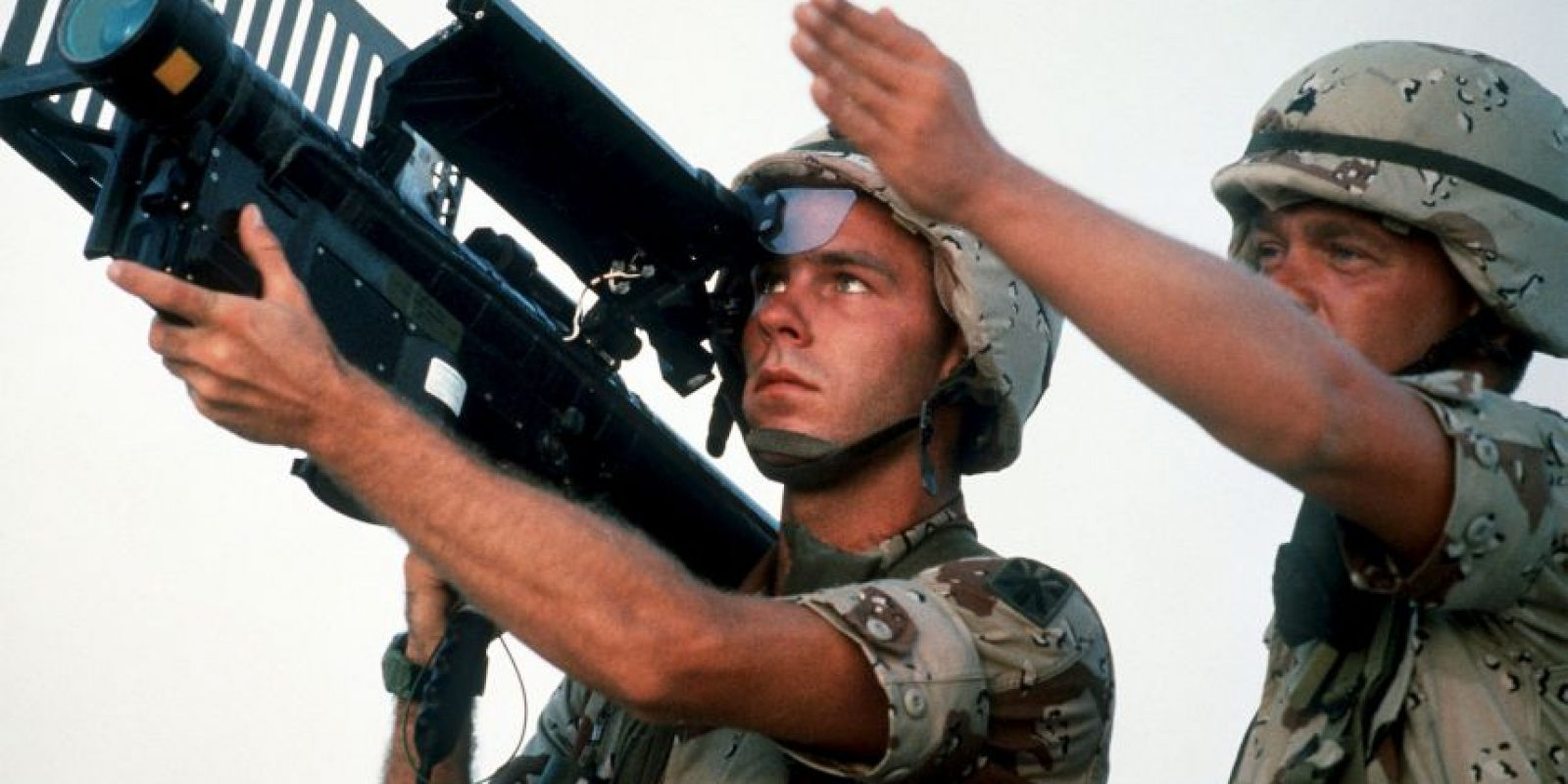 """16 de enero – Comienza la operación """"Tormenta del Desierto""""; con la que Estados Unidos bombardea a Irak Foto:Getty Images"""