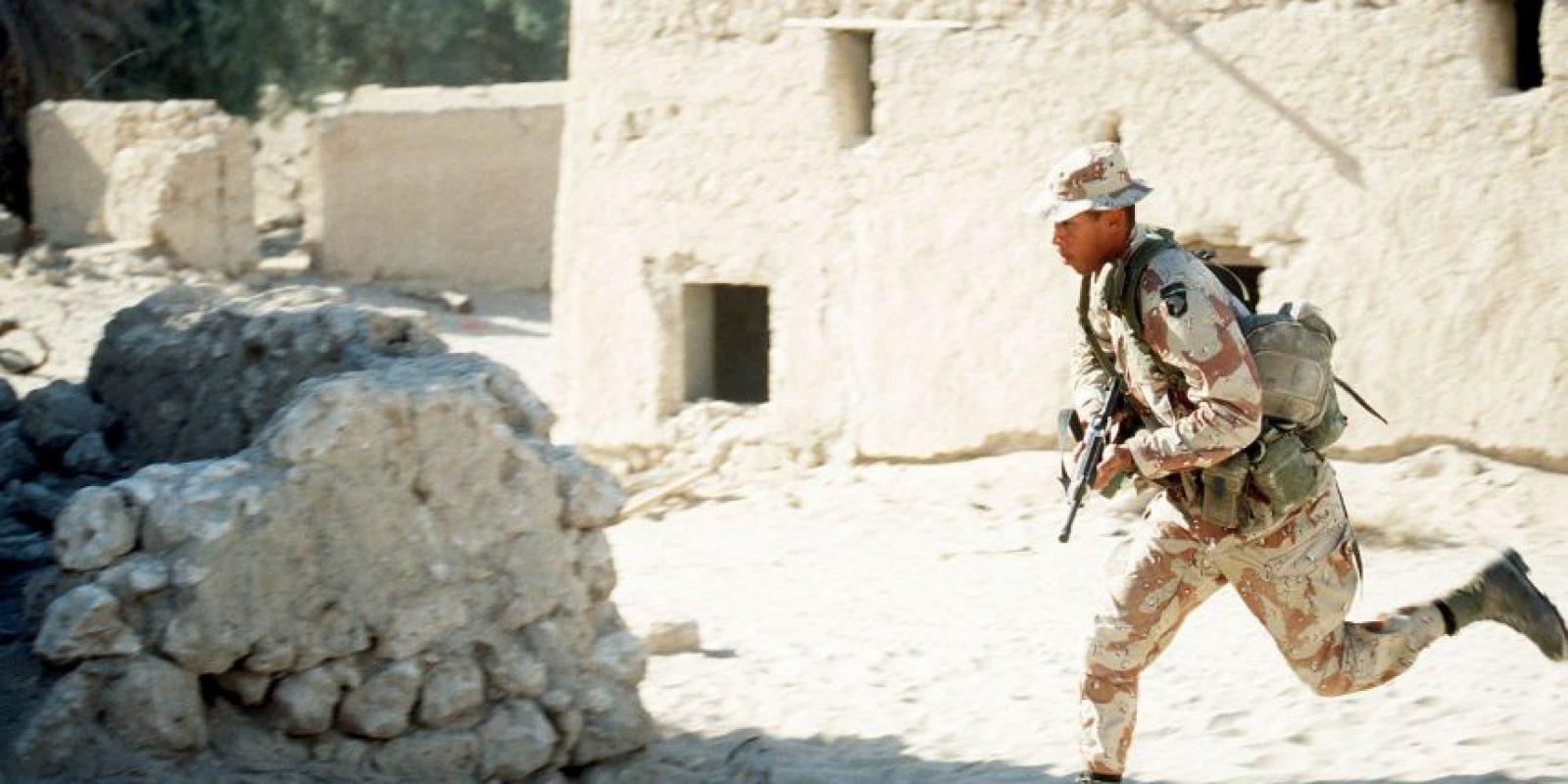 1991: 12 de enero – El Congreso de Estados Unidos autoriza el uso de la fuerza militar en la Guerra del Golfo Foto:Getty Images