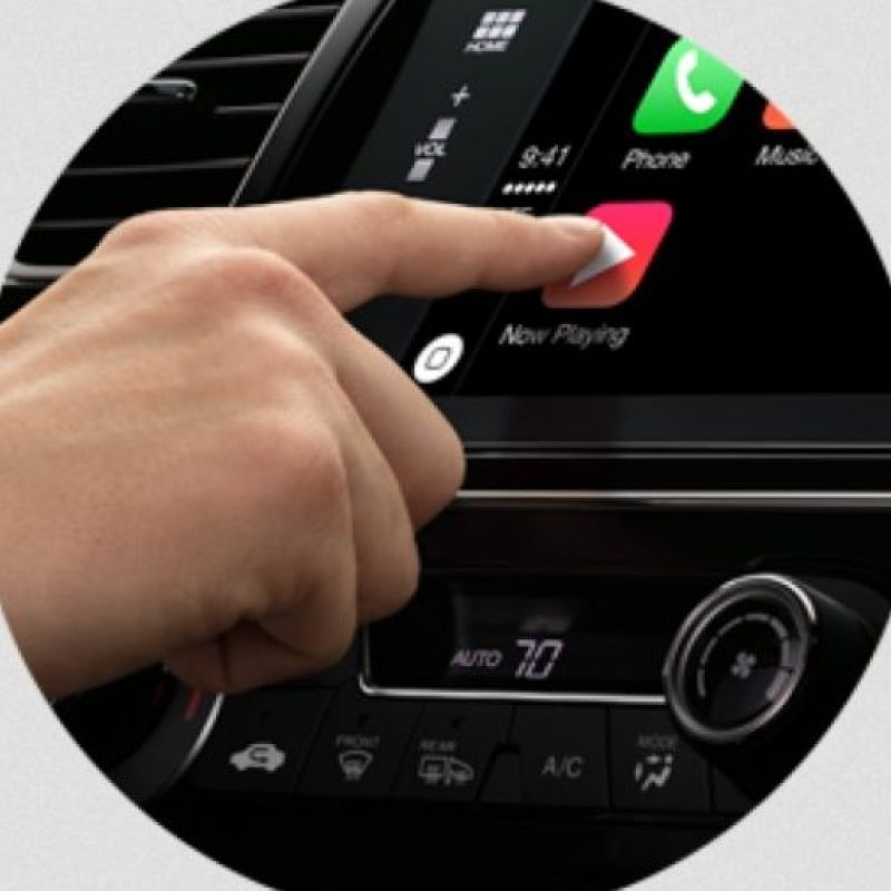 El software se puede utilzar también con un toque. Foto:Apple