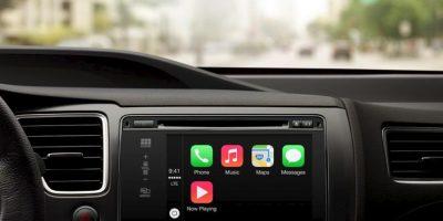 De esta forma luce Apple CarPlay . Foto:Apple