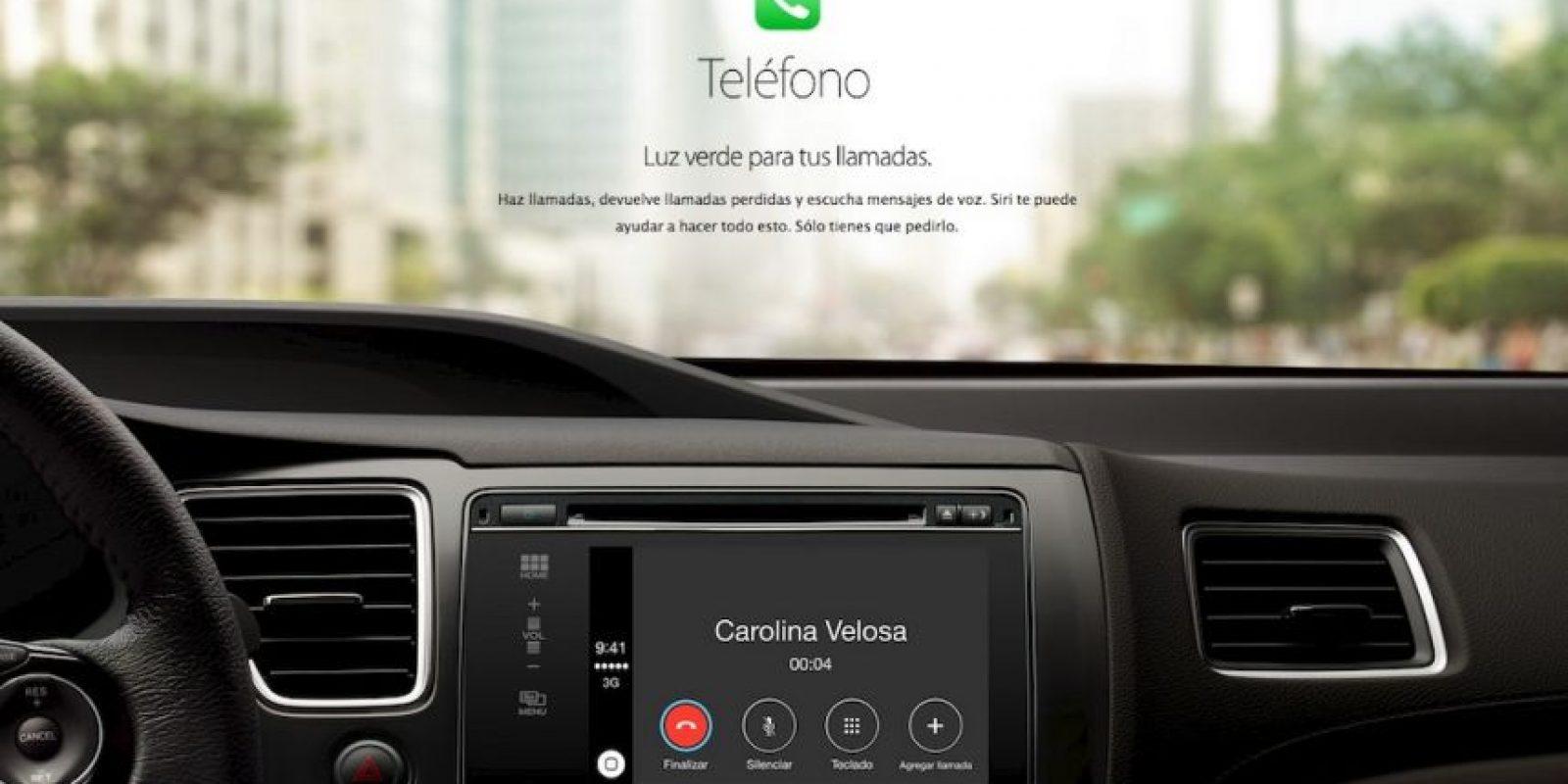 Llamar a un contacto requerirá de decir un solo comando. Foto:Apple