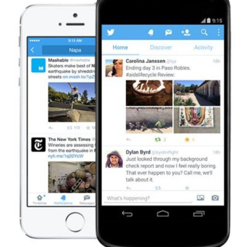 Twitter: Personas, empresas y figuras públicas se comunican en solo 140 caracteres. Foto:Twitter
