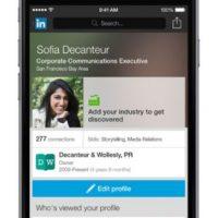 LinkedIn: Da la posibilidad de conectarse con colegas, amigos y otras miembros de su vida laboral. Foto:LinkedIn