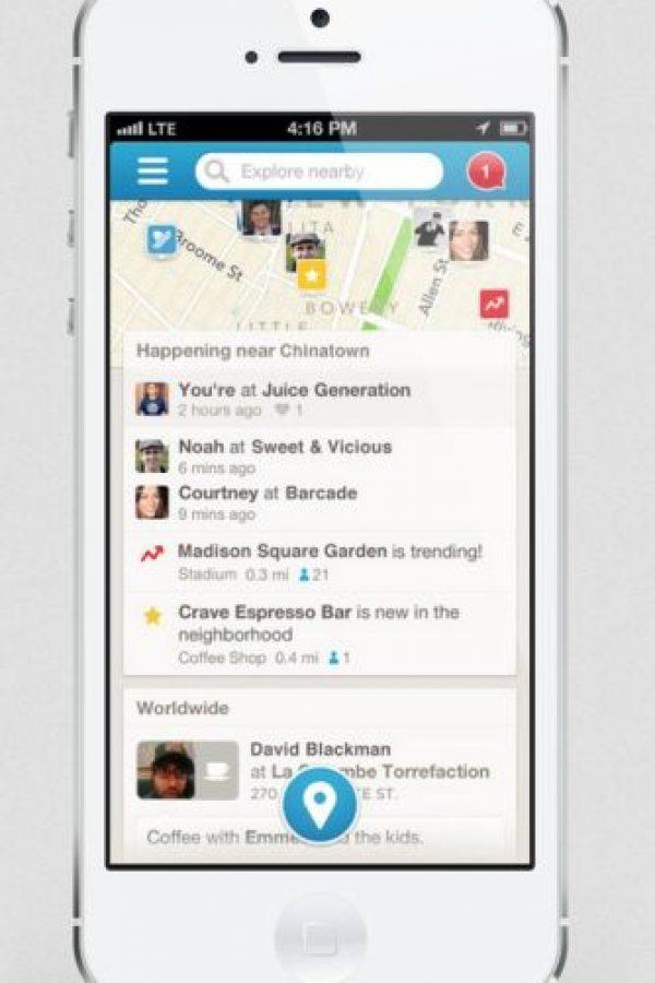 Foursquare: Tips, recomendaciones y todo lo que necesitan saber del sitio donde se encuentran. Foto:Foursquare