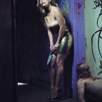 """Con esta imagen decía """"no al feminicidio"""". Foto:instagram.com/danaranguiz1"""