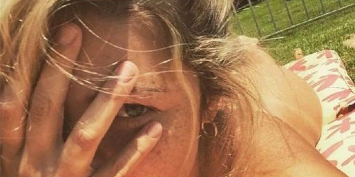 FOTOS: Esposa de famoso futbolista latino causa revuelo con desnudo