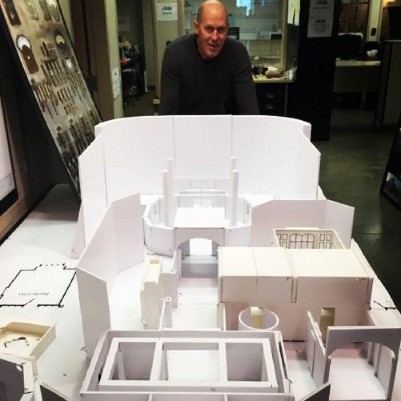 Maqueta de la mansión de los X-Men. Foto:instagram.com/bryanjaysinger