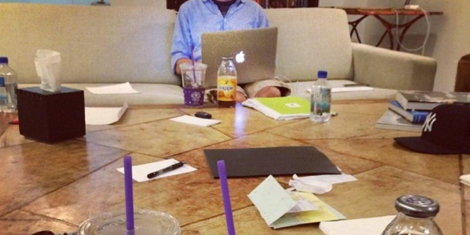 Sesiones de guionismo para la nueva cinta. Foto:instagram.com/bryanjaysinger